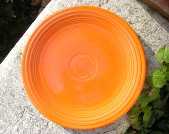 Original Red (Orange) Fiestaware Luncheon Plate 1936-1951