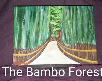 The Bambo Forest in Japan