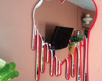 Heart Art Bleeding Heart Wall Art Heart Wall Mirror Decorative Heart Art Mother's Day Gift for Mom