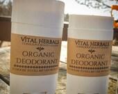 100% organic deodorant, 7 ingredient deodorant, handmade deodorant, herbal deodorant, natural deodorant