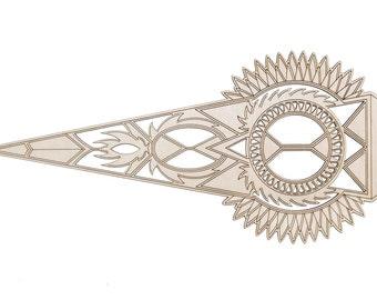 ATLAS - Wooden Ornament