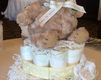 Classic Winnie the Pooh Diaper Cake