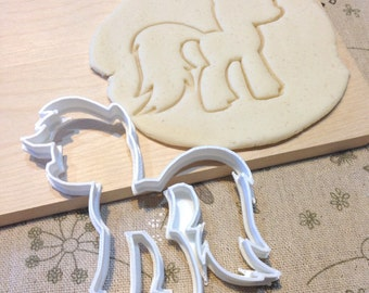 My Little Pony Cookie Cutter - Fondant Icing Cake Cupcake Topper Iced Sugar Cookies Biscuits Mould Girls Tea Party Cute MLP Theme Birthday