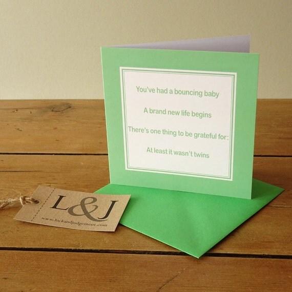 Wedding Gift List Rude : ... gift - baby shower gift - baby boy - baby girl - new parents - rude