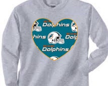 Unique miami dolphins shirt related items | Etsy