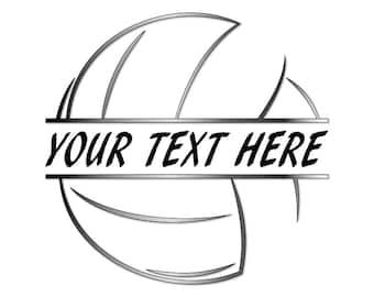 Volleyball Art Etsy