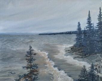 Lake Superior North Shore Waves