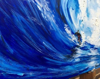Ocean I * original acrylic painting on canvas