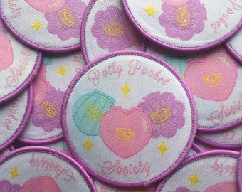Polly Pocket Society Patch