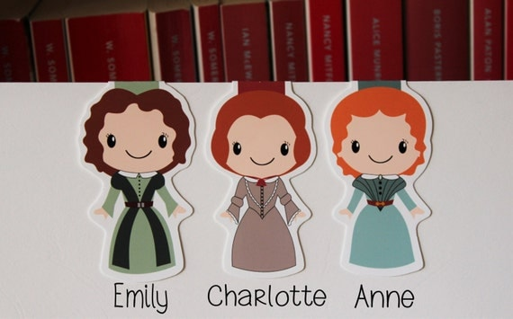 Bronte Sisters Bookmarks | Bibliophile Gift Guide
