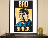 """Bad Spock 24""""w x 30&..."""