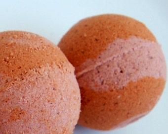Berry Mimosa Bath Bomb - Clay Bath Bomb - Bath Fizzy - Small Bath Bomb