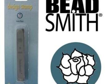 BeadSmith 6mm Rose Metal Stamp (LPSD54)