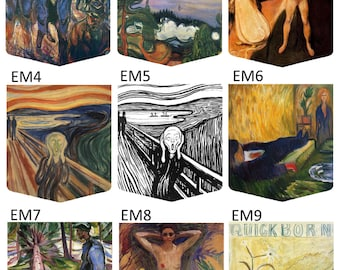 Edvard Munch Gallery (27 different pockets to choose from) Pocket Shirt
