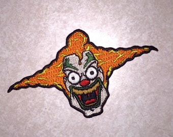 Jack the Clown inspired Limited Edition Iron-On Embroidered Patch
