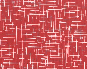 Haystack in Poppy from House of Hoppinton by Violet Craft for Michael Miller Fabrics DC5577-POPP-D