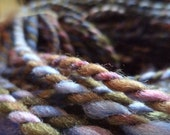 266 yards Mountain Heather 100% Handspun + Dyed Falkland Bulky Yarn - gigantic hank -