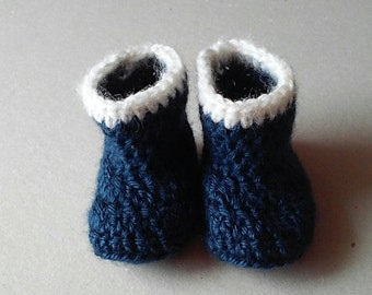 Baby boots , baby booties , baby shower gift , photo prop