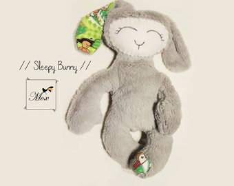 PATTERN- Plush Bunny Sewing Pattern with instructions, PDF