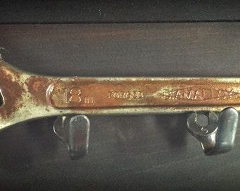 Adjustable Wrench Key or Coat Rack