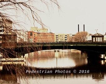 Milwaukee State Street Bridge Fine Art Photography