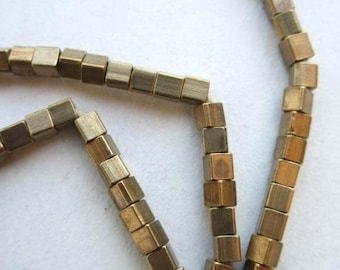 Brass Spacer Beads (3x3mm) [64815]