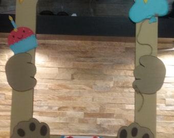 Teddy Bear Photo Booth Frame