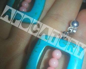 Aztec Design Earrings