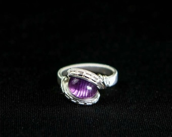 amethyst size 5 ring
