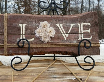 Love pallet art, Wedding Decoration , Rustic, Wedding Sign