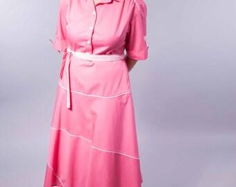Pink cupcake - vintage dress