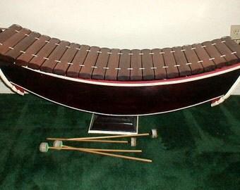 """Xylophone Thailand Ranat Ek Rinaad Rinat Ek Ranad Ek Exc. quality wood sound 50"""""""