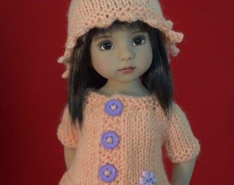 "7. Sweaters & Hat - PDF Knitting Pattern for Dianna Effner 13"" Little Darling Dolls"