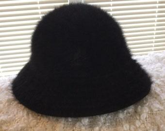 REDUCED!! Kangol Angora Black Hat