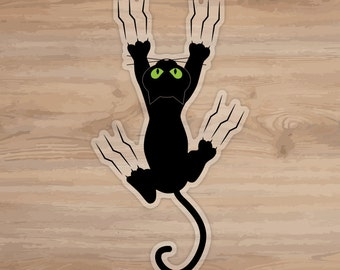 Cat Scratch Fever Flat Surface Decal