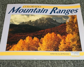 Colorado Mountain Ranges Number Two By Jeff Rennicke C.1993