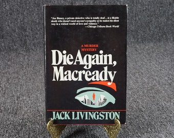 Die Again Macready By Jack Livingston C. 1984