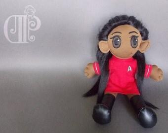 Uhura Star Trek Beyond Plush Doll Plushie Toy [READY TO SHIP]