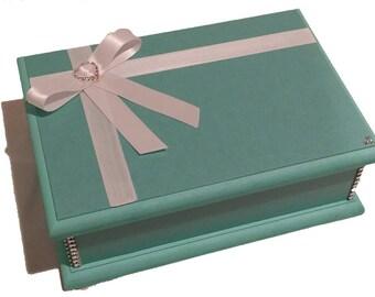 Elegant Turquoise Keepsake Box