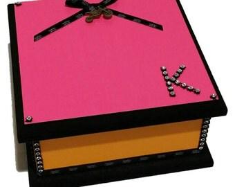 Neon Keepsake Box
