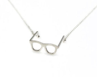 Necklace end. sunglasses. 925 sterling silver