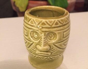 Vintage Tiki ceramic toothpick holder