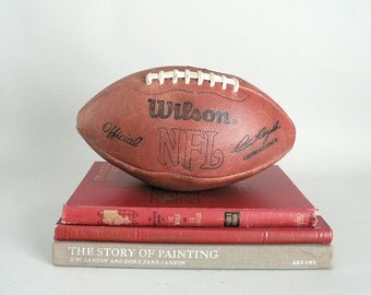 Old Leather NFL Football
