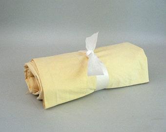 Yellow Flat Twin Sheet