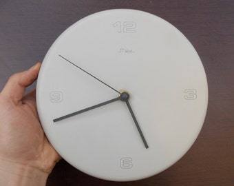 vintage mize wall clock atomic wall clock rare wall lock kitchen wall clock