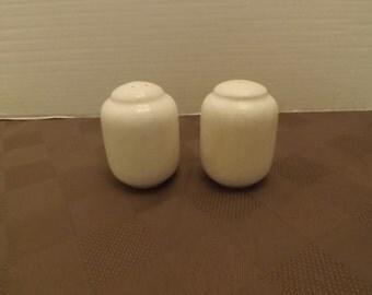 Vintage Ivory(White) Salt & Pepper Shakers