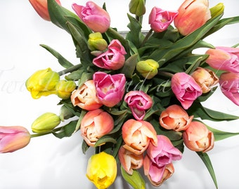 Styled Bouquet Tulips Stock Image   Digital Photography   Styled Stock Photography