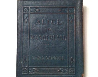 Alice in Wonderland Little Leather Library Lewis Carroll Miniature Edition