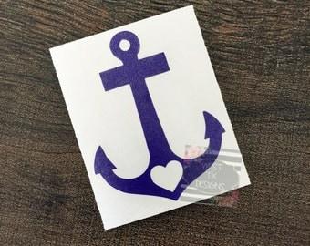 Anchor Decal | Faith Hope Love | Anchor Sticker | Faith Hope Love Sticker | Yeti Decal | Yeti Tumbler Decal | Car Decal | Macbook Decal