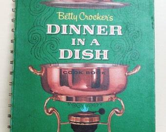 "Vintage Cookbook:  ""Betty Crocker's Dinner In A Dish Cookbook"", 1965"